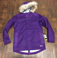 New with tags Under Armour girls jacket sz large/ 12-14 was $168 Edmonton, T5W 0P8
