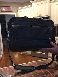 Black leather briefcase. Can hold laptop. Like new. $25 Cartersville, 30121
