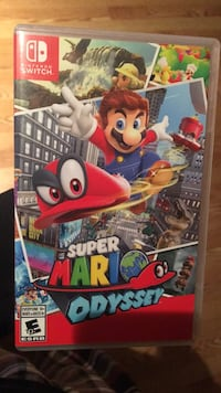Super Mario Odyssey. Looking to trade for either FIFA or 2K. Will sell or possibly trade for another game depending on the offer   508 km