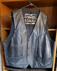 Leather Vest and Jacket