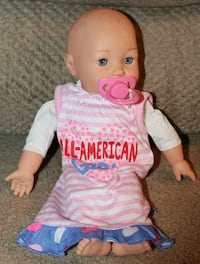 Baby Doll with attached magnetic pacifier Santa Clarita
