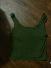 Army green crop tank size small Templeton, 01468