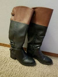 Rampage Size 8 Knee High Boots