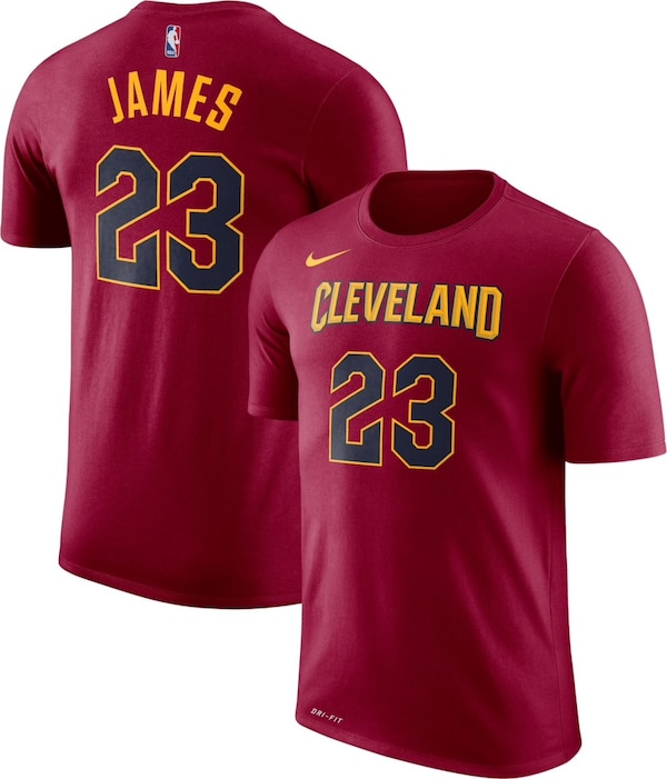 new concept 3150b 982a1 Lebron james 2018 Cleveland Cavaliers t-shirt Size Youth XL