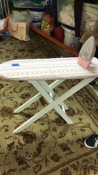 pink and red floral clothes ironing board Fairview, 75069