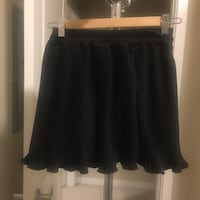 Black mini skirt size(S-M)  Coquitlam, V3B 0E1
