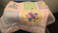 Baby blanket with flower and butterflys North Las Vegas, 89030