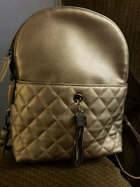 brown leather quilted crossbody bag Silver Spring, 20910