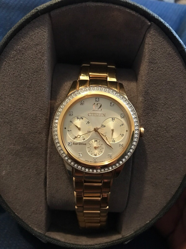 7bc0aba550b Used Real gold citizen watch for sale in New Orleans - letgo