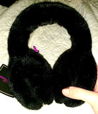BRAND NEW WITH TAG CHRISTIAN SIRIANO FAUX FUR EAR MUFFS