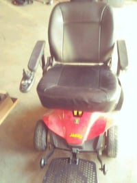 black and red powered wheelchair Indianapolis, 46241