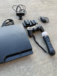 PlayStation 3 with accessories  Indianapolis, 46237