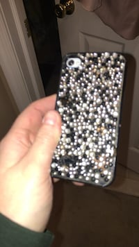 beaded black and gray iPhone case Easton, 18040
