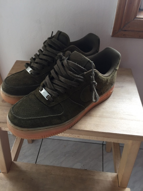 004ddef70 Used Gum Suede Nike Air Force 1 8.5W for sale in Toronto - letgo