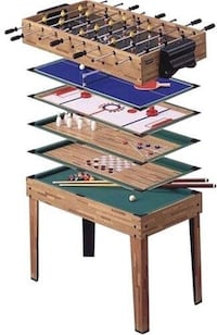 NEW Harvard 7-in-1 Multi-Game Table Katy, 77450