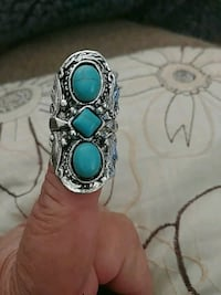 Vintage syle turquoise ring