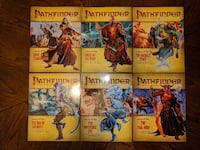 Pathfinder Adventure Path: Legacy of Fire - COMPLETE SET - Vol 19-24 Herndon