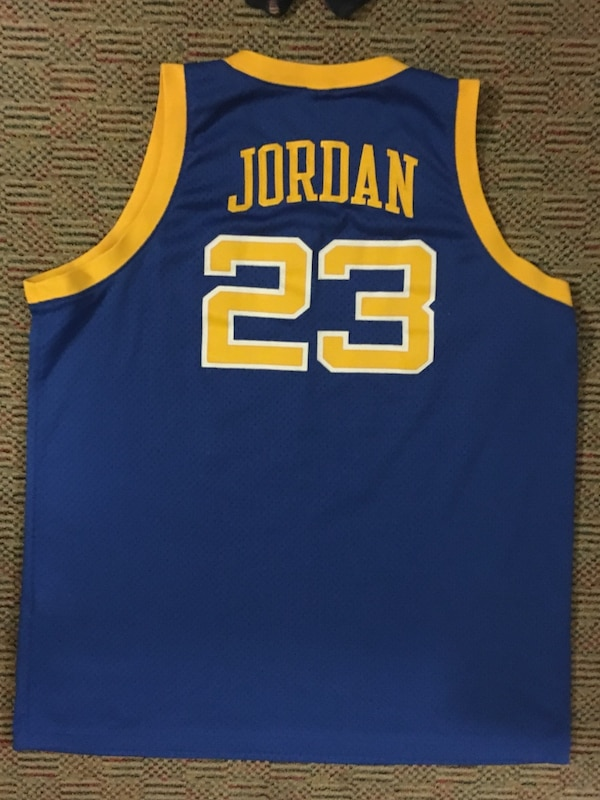 reputable site ec0a1 b0d04 Michael jordan #23 laney bucs high school jersey