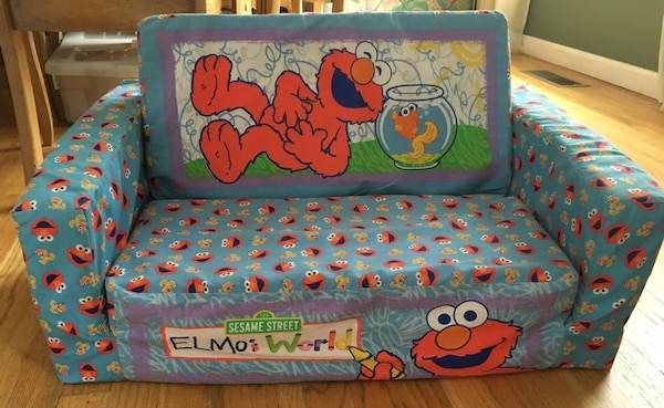 Used Elmo S World 2 In 1 Flip Open Sofa For Sale In Lower Macungie