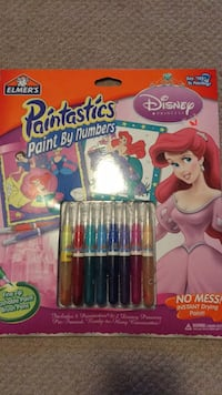 Elmer's Paint by Numbers Disney Princess Mississauga, L5H 4G5