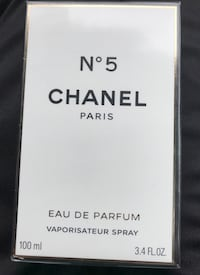 100 ml Chanel Paris N. 5 eau de parfum box 3731 km