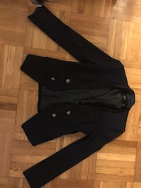 black button-up jacket Toronto, M4N 2K4