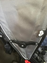 Delta LX side Caiden StrollerBaby's black and gray twin stroller Campbell, 44405