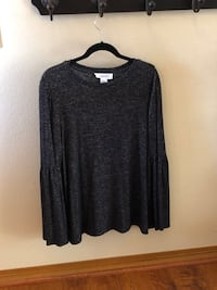 Women's Long Sleeved Top: XL