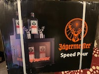"""""""Brand new in sealed box"""" Jagermeister Speed Pour Freezer"""