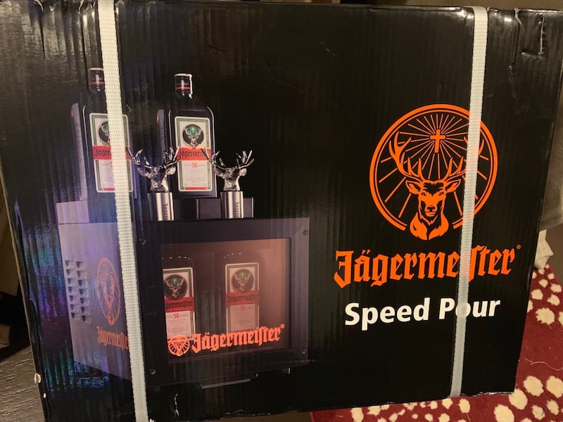 """""""Brand new in sealed box"""" Jagermeister Speed Pour Freezer bad6959f-8dca-49f8-b5ee-fbca1312dcd8"""