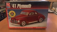 '41 Plymouth Model Skill 2 by AMT 1941 Kit Toronto, M3A 1S6