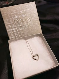 Peoples Jewellers Diamond heart necklace