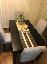 Dining set with 4 chairs  Toronto, M1J 2E7