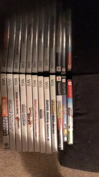 assorted Sony PS4 game cases Cheney