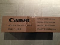 Canon bottle waste toner box ROCKVILLE