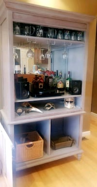 Dining Bar- Perfect for entertaining and storage.
