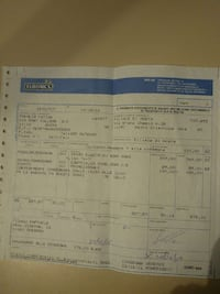 documento cartaceo Euronics Aosta, 11100