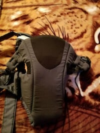 baby's gray and black carrier Laval