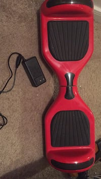 Red Hoverboard with charger+LED lights  Houston, 77077