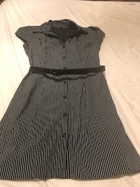 Women's Dress Black and white Stripped Santa Rosa, 95407