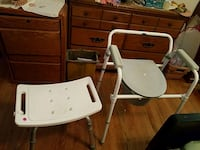 Shower chair and potty chair Hickory, 28601