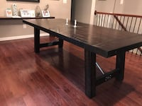 Large Dining Table - Haverty's Alden Ridge Centreville, 20121