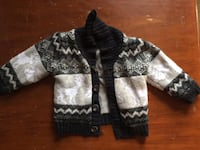 black and white knitted sweater Edmonton, T5E 5N2
