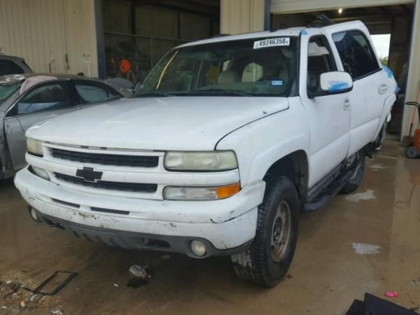 Used For Parts A 2003 Chevy Tahoe Z71 4x4 Transmission 5 3 Engine In Nevada Letgo