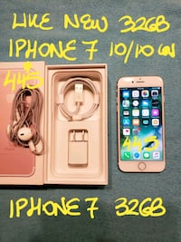 TradeOrFirm $445 PINK IPHONE 7 32GB+Charger10/10  Pointe-Claire, H9R 2Y7