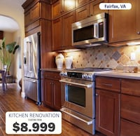 20% Sale on Kitchen Remodeling Chantilly, 20151