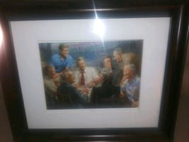 Painting of past Presidents