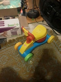 toddler's yellow and blue ride-on toy Columbia, 17512