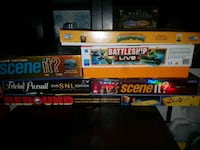 Assorted games $5 each Burlington, L7P 2V9