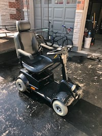 Fortress 4 wheel scooter with carrier! Milton, L9T 5Y7